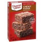 Chewy Fudge Brownie Mix (Duncan Hines)